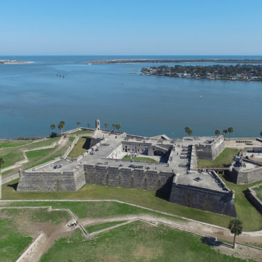 aerial photography fort