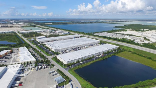 aerial photography industrial real estate