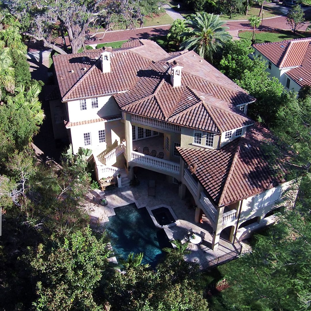 aerial photography residential real estate